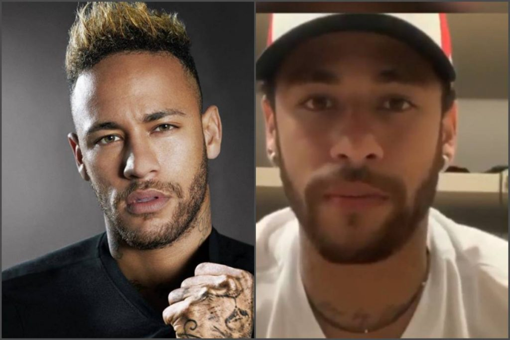 Neymar Denies Rape Allegations With Sex Clips & Whatsapp Chats As Proof.