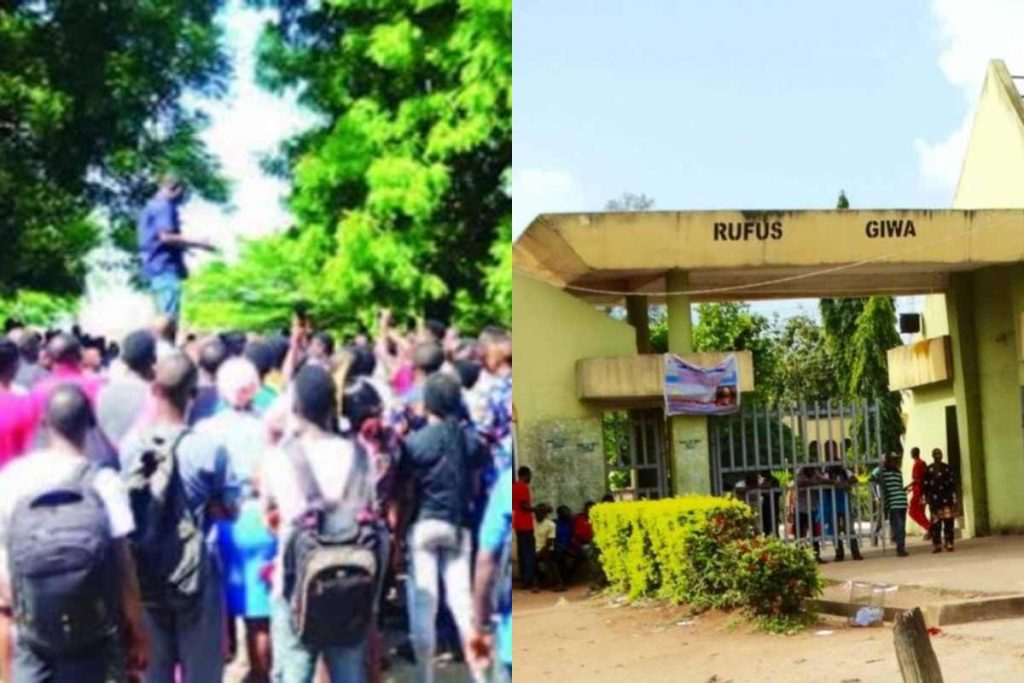 Ondo State, Rufus Giwa Polytechnic Shut Down As Lecturers Protest Unpaid Salaries.
