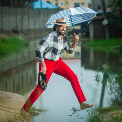 Bryan Okwara Narrates Bizarre Experience After 3 Days Of Heavy Downpour In Lagos.