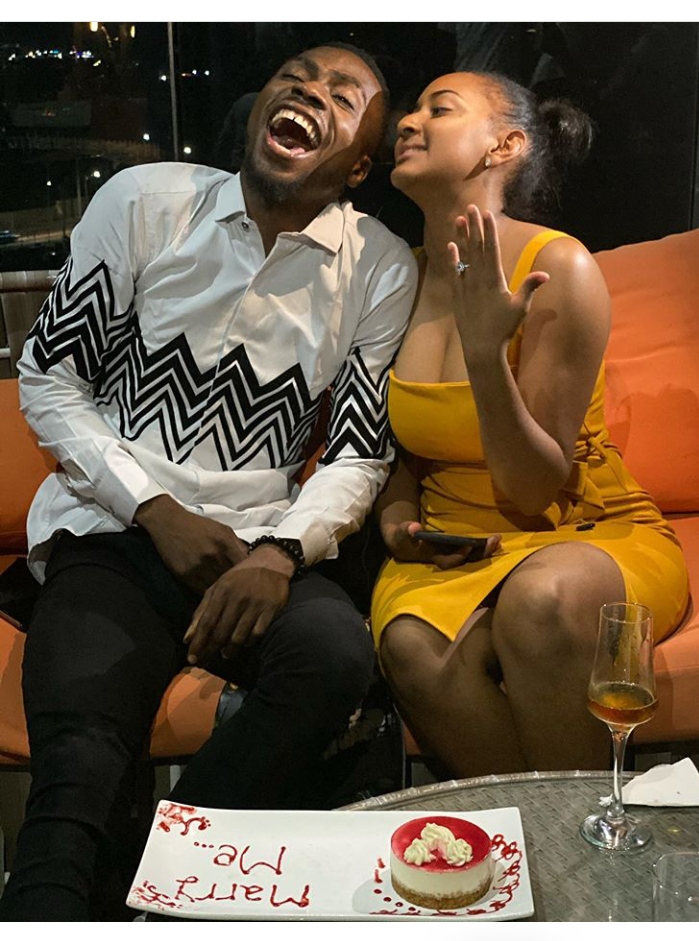 Nigerian Comedian, Josh2Funny Gets Engaged Shortly After Proposing To His Girlfriend (Photos).
