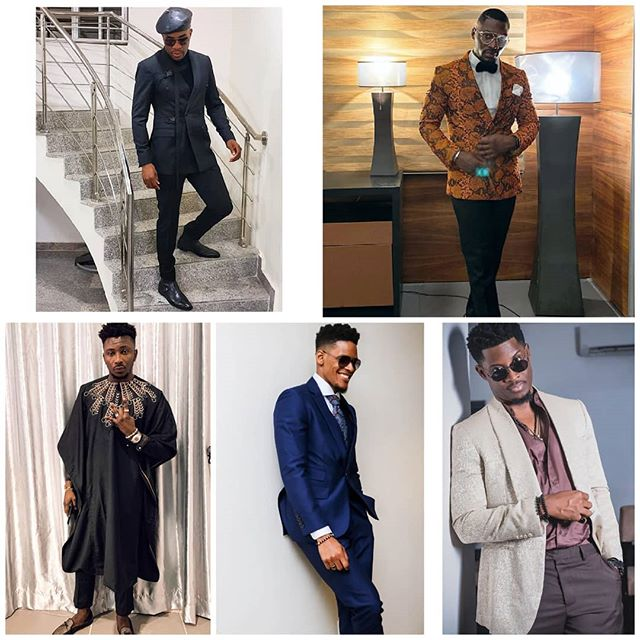 Tobi Bakre, Seyi Awolowo, Sir Dee, Elozonam & Ebuka, Who Stylishly Rocked Best Outfit To The #Headies2019?